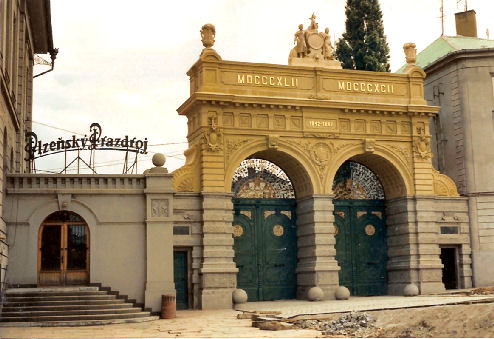 Brewery gates 1991