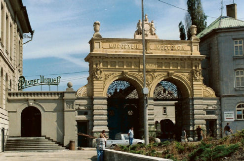 Brewery gates 1993
