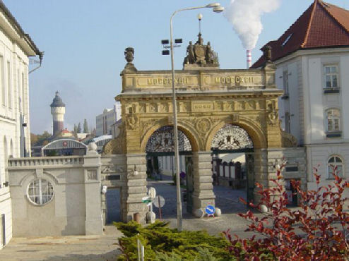 The Brewery Gates 2002