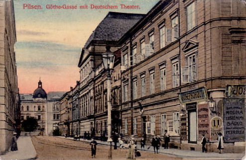 The German Theatre circa 1900