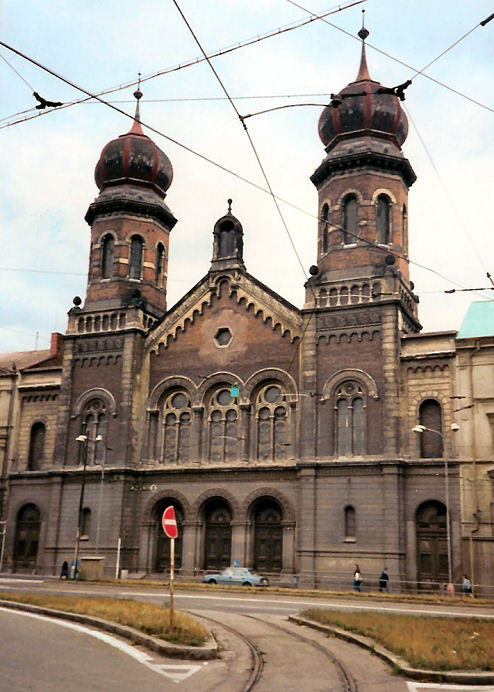 The Great Synagogue, Plzeň 1991