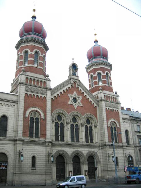 The Great Synagogue, Plzeň circa 2000